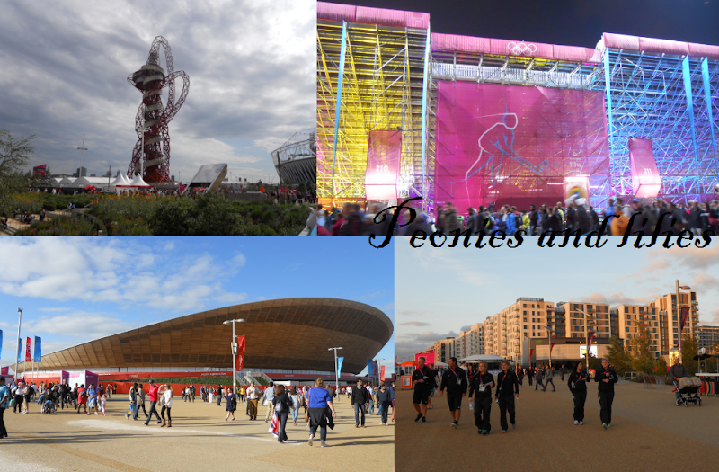 Olympics, London 2012, London 2012 olympic park, Peonies and lilies, London 2012 olympic orbit, London 2012 olympic hockey stadium, London 2012 olympic velodrome, London 2012 olympic village