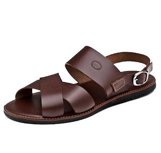 Sandália de couro Sueldo's