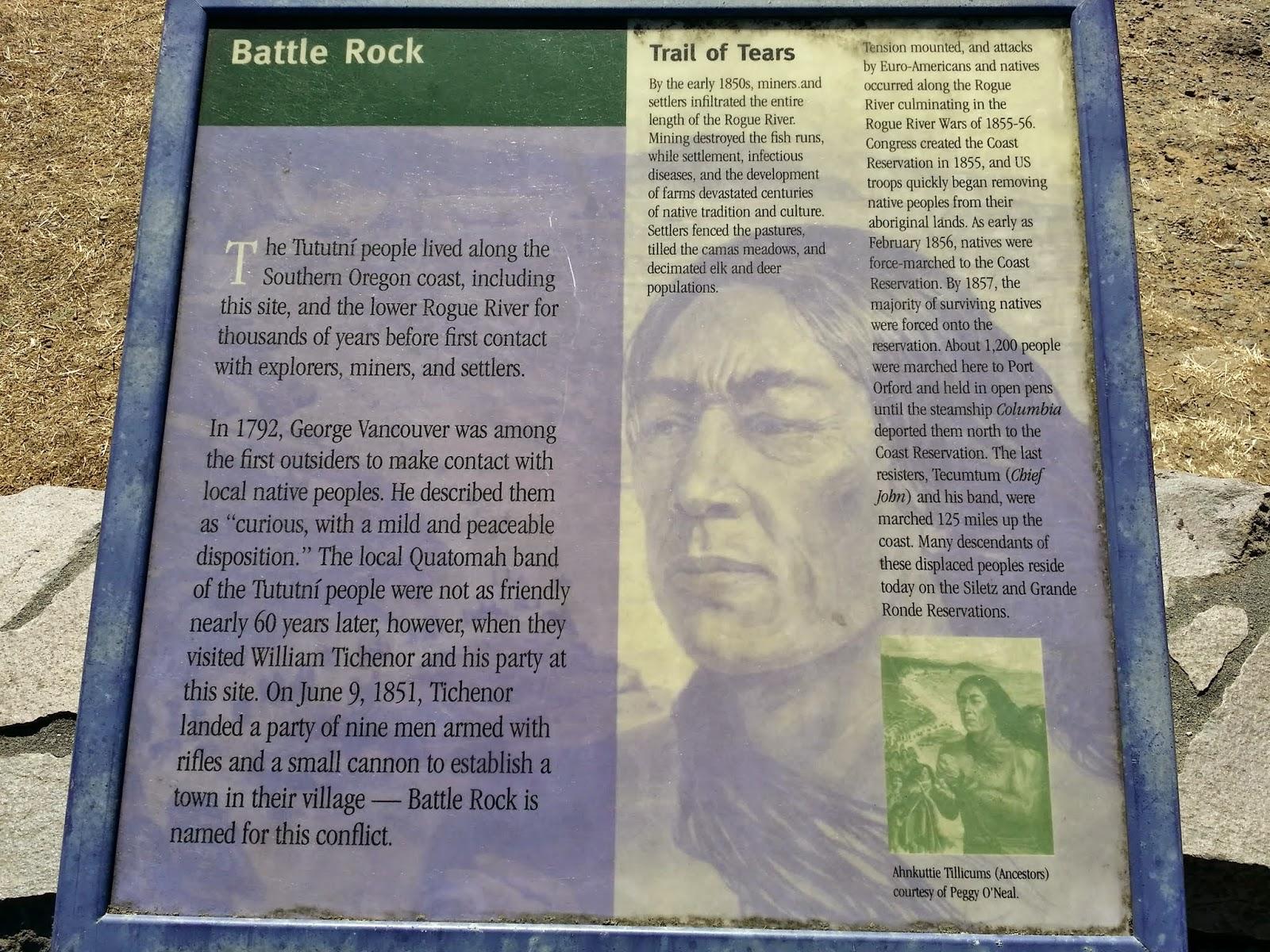 Battle Rock Wayside Park