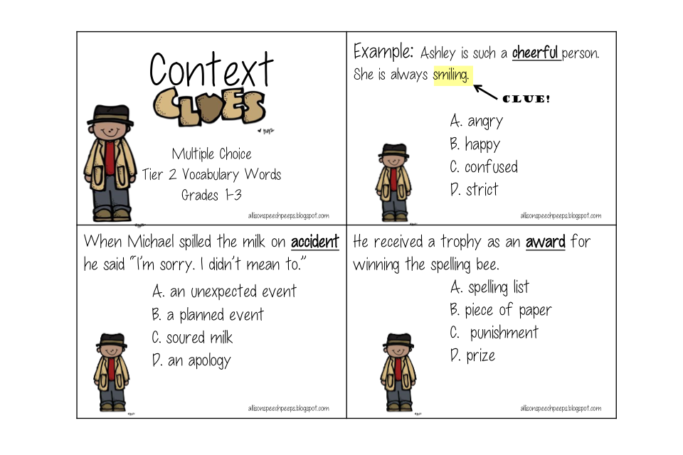 Context Clues Worksheets 1st Grade Delibertad – Vocabulary in Context Worksheets