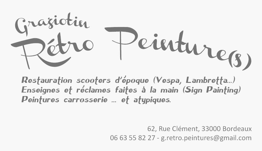Graziotin Retro Peinture(s)