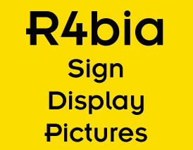 Rabaa Sign Display Pictures