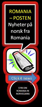 NYHETER PÅ NORSK FRA ROMANIA