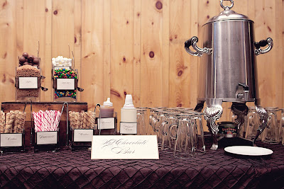 Hot Chocolate Bar - Cara Mia Events