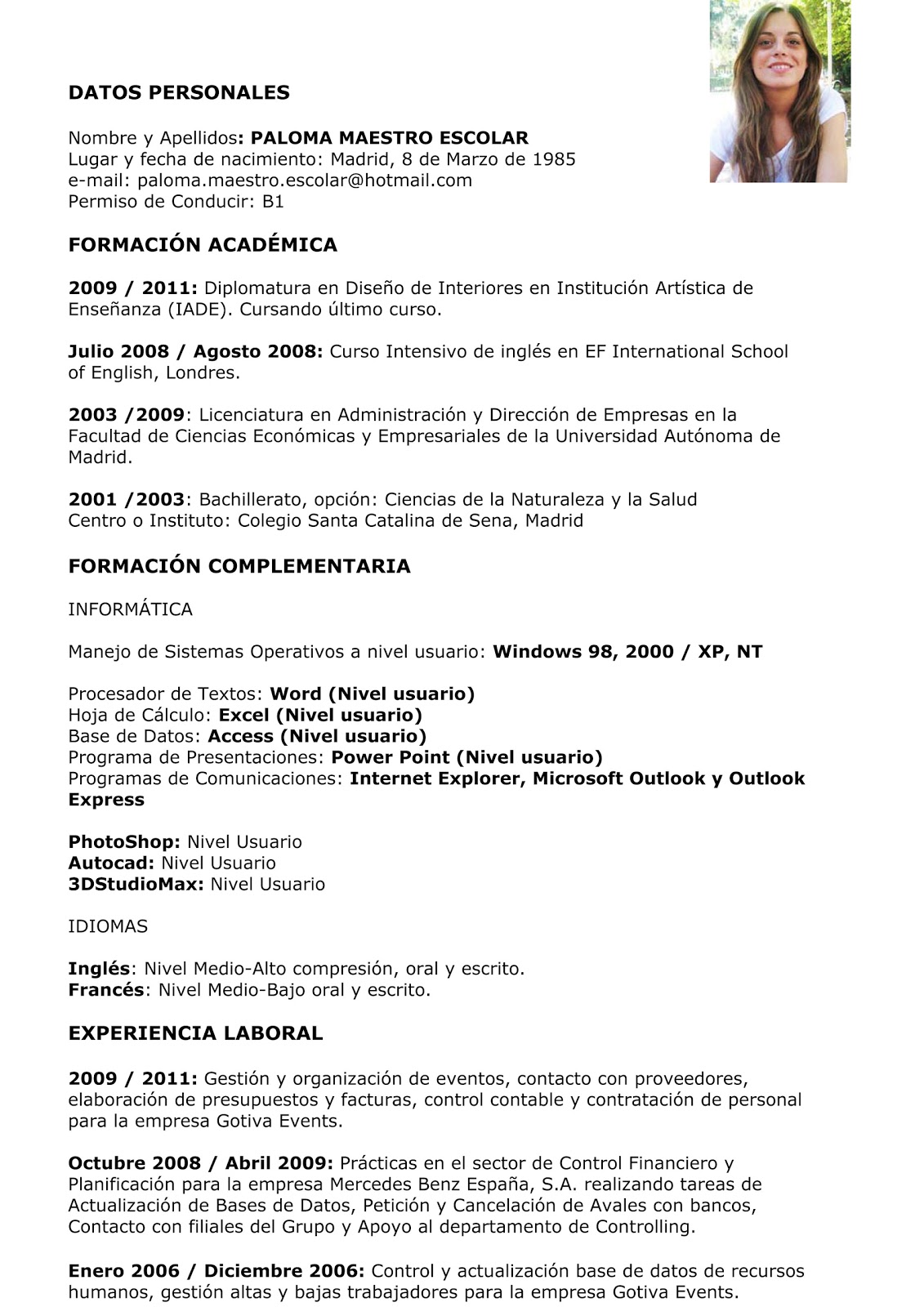 Download Baixar Curr Culo Curriculum Vitae