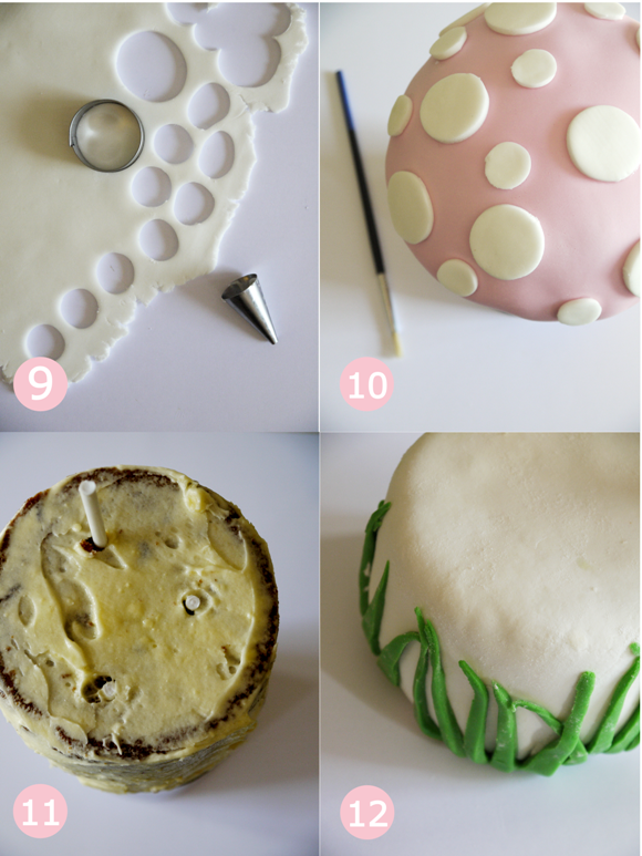 Pixie Fairy Party Ideas How To Make A Toadstool Birthday Cake Birdsparty Com