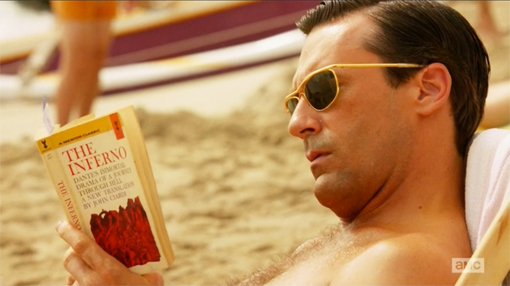 Mad Men S06E01-02. The Doorway Don Inferno Dante