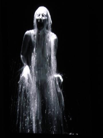 Ramona's MOMA: Bill Viola, Acceptance, 2008