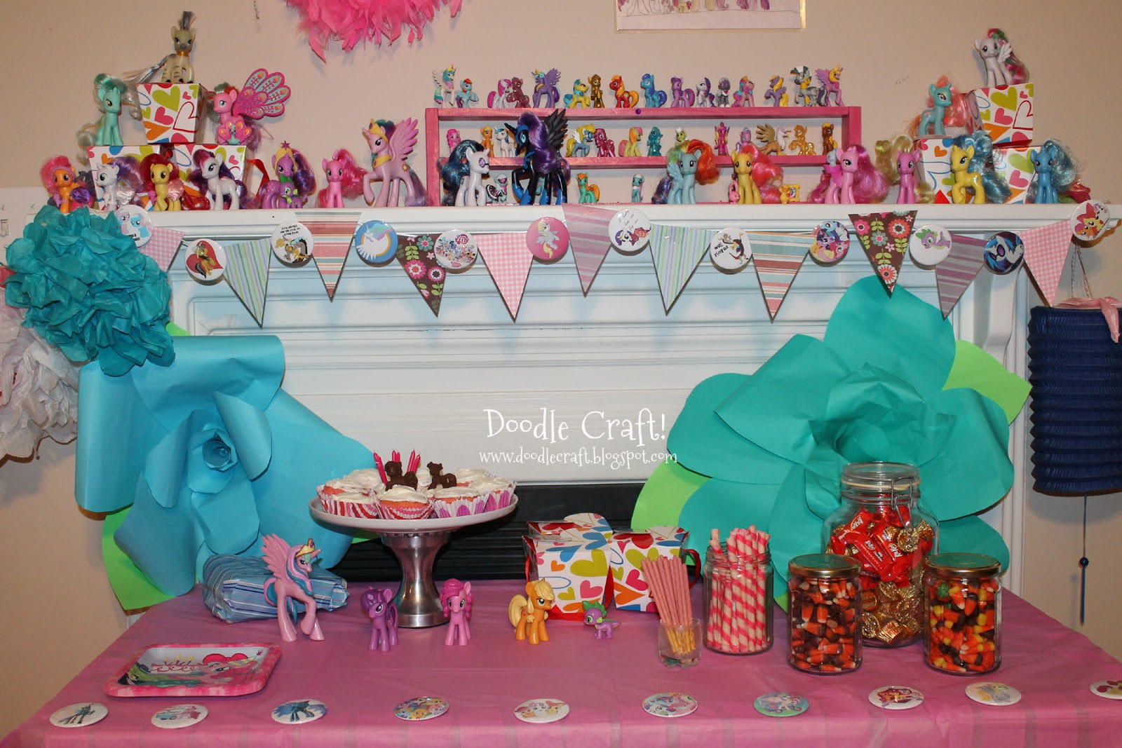 Doodle Craft: My Little Pony BUDGET PARTY and Chocolates!