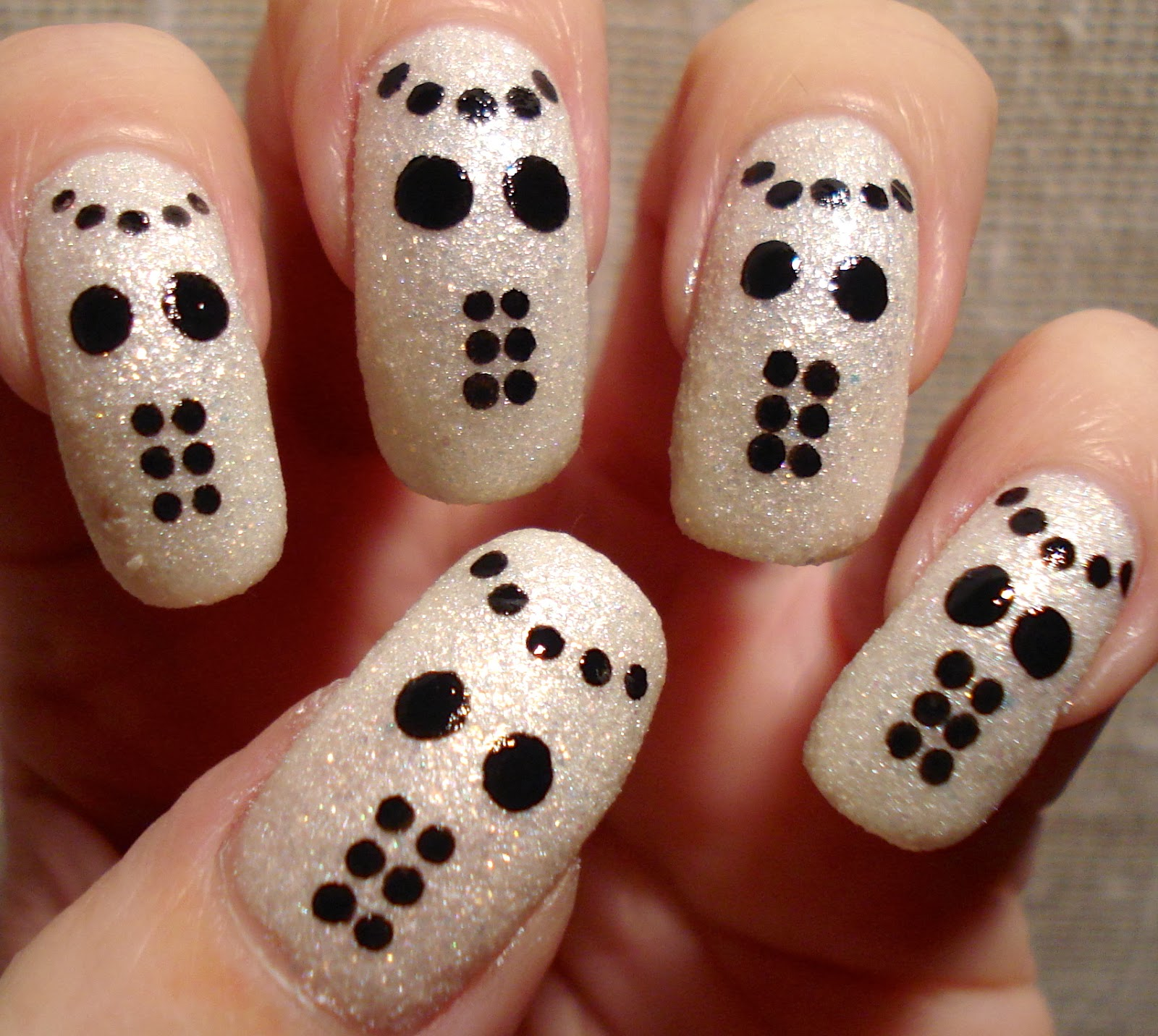 Little Miss Nailpolish: Jason Voorhees Goes Glam Nails