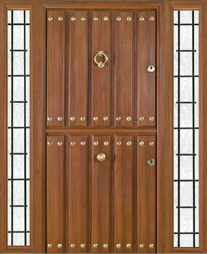 Puertas r sticas en aluminio modelo asturias con fijos - Puertas exterior asturias ...