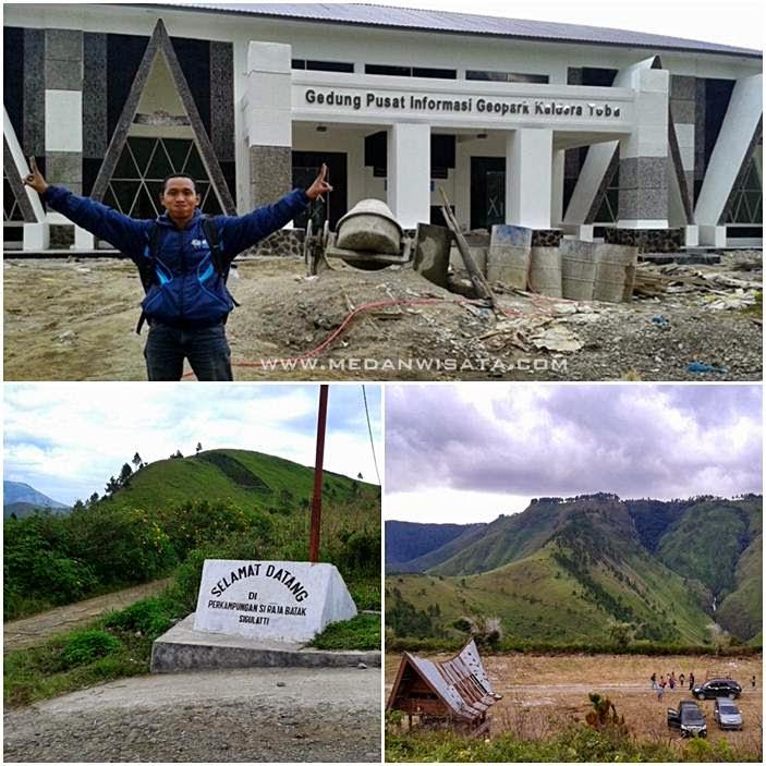 Gedung Pusat Informasi Geopark Kaldera Toba