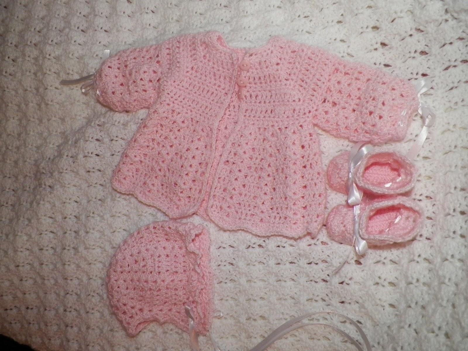 Crocheting Baby Stuff : ScrappingSuzieQTT: New crocheted BABY items!