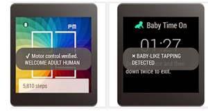 Baby time untuk jam tangan pintar