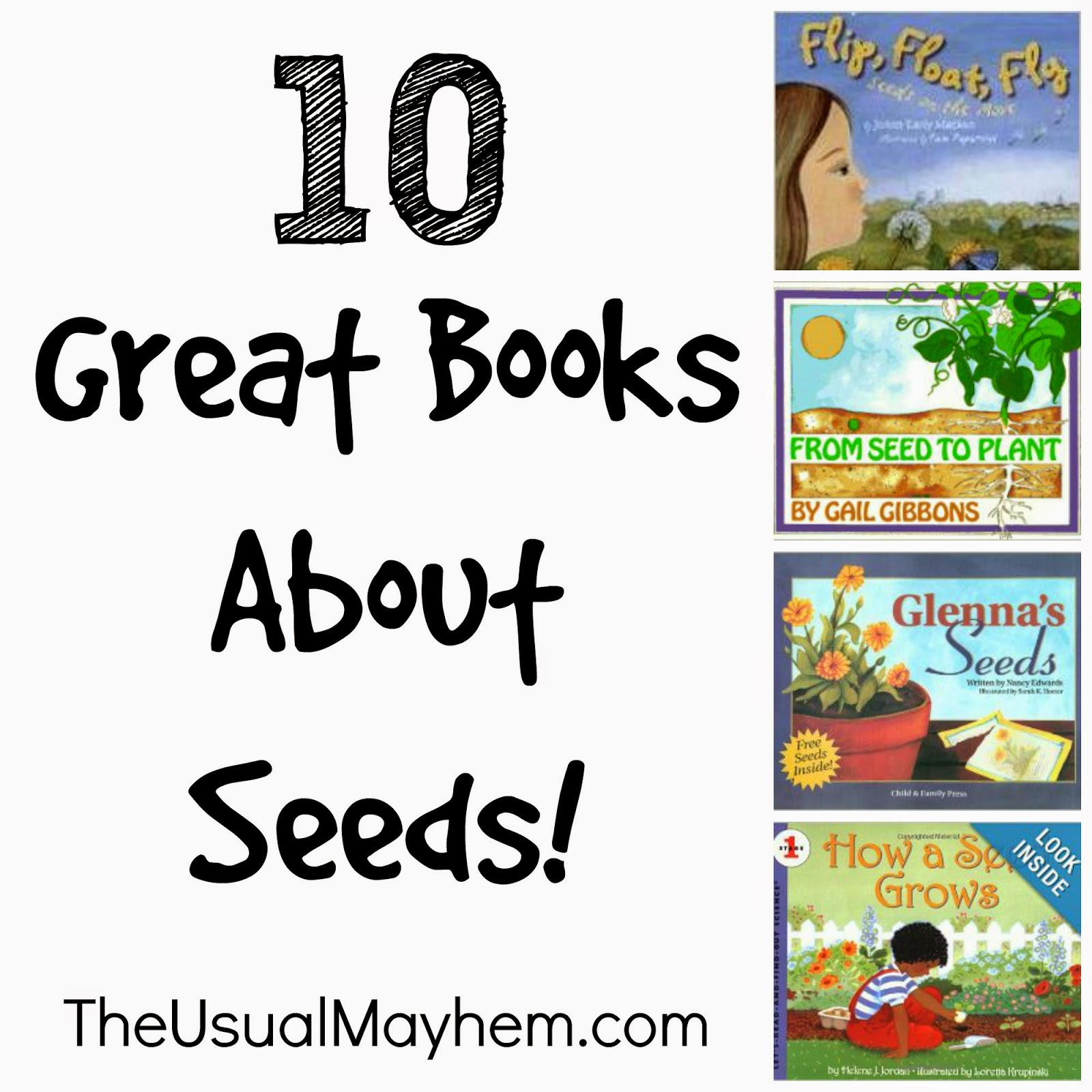 10 books about seeds