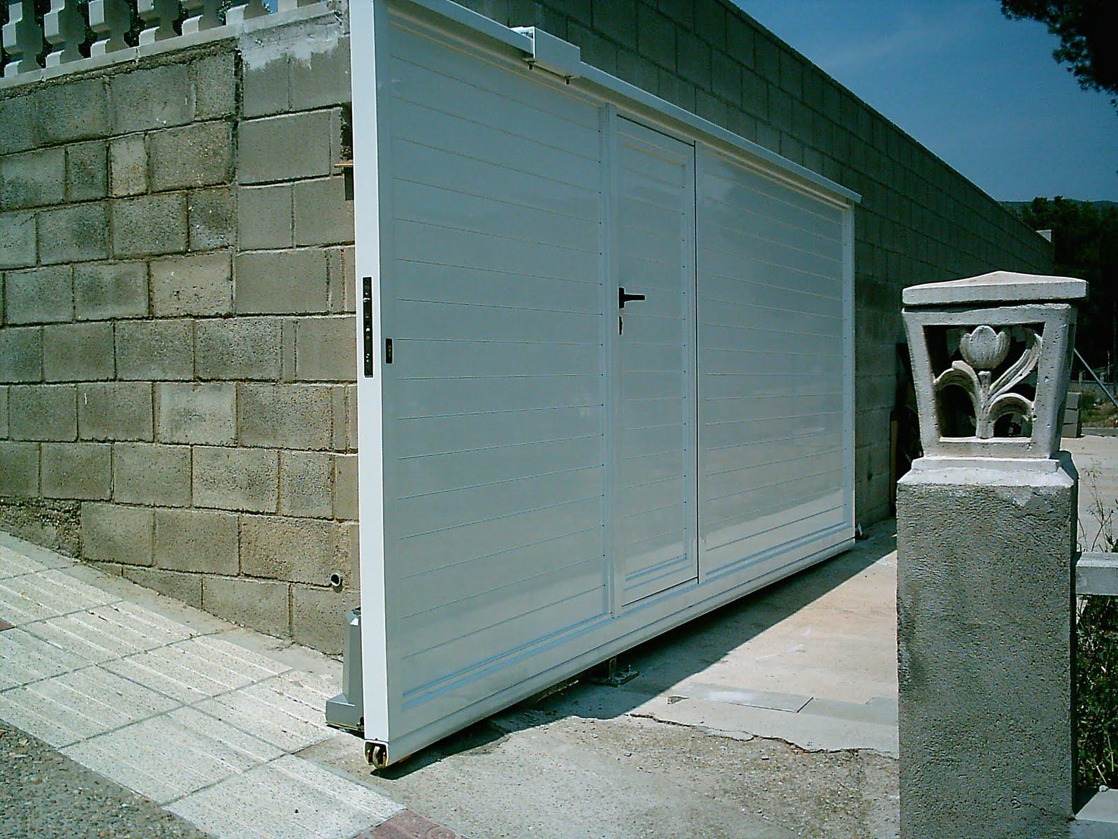 Puertas automatismos sistemas de seguridad y control for Automatismo puerta corredera