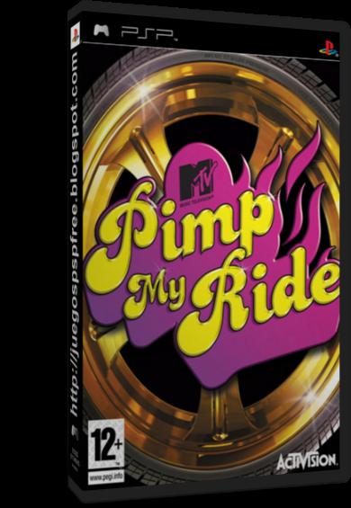 el juego de pimp my ride: