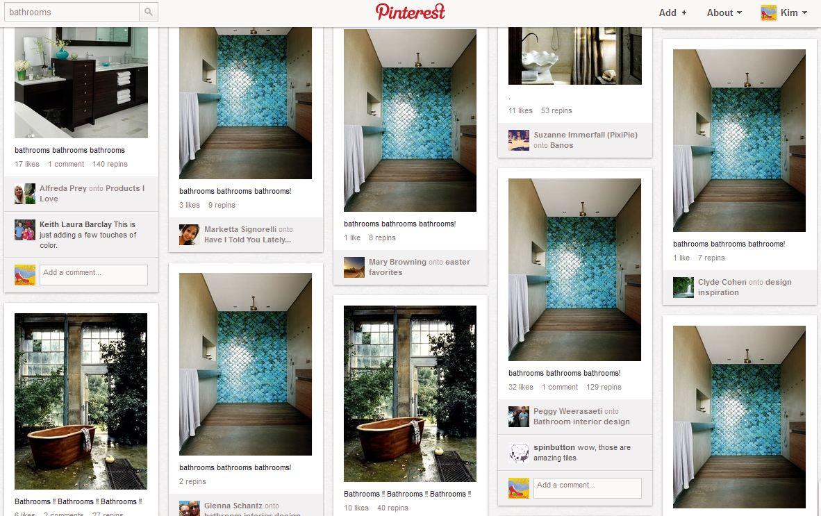 Pinterest Bathroom Decorating Ideas