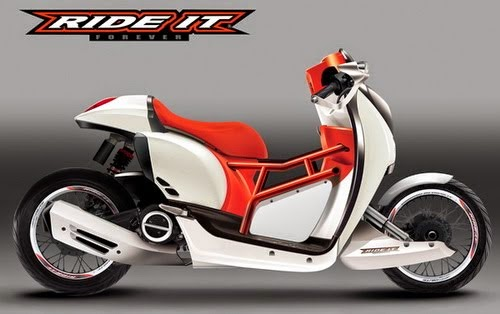Modifikasi Honda Scoopy 2014