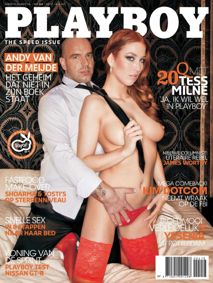 Download Playboy Holanda Abril 2013
