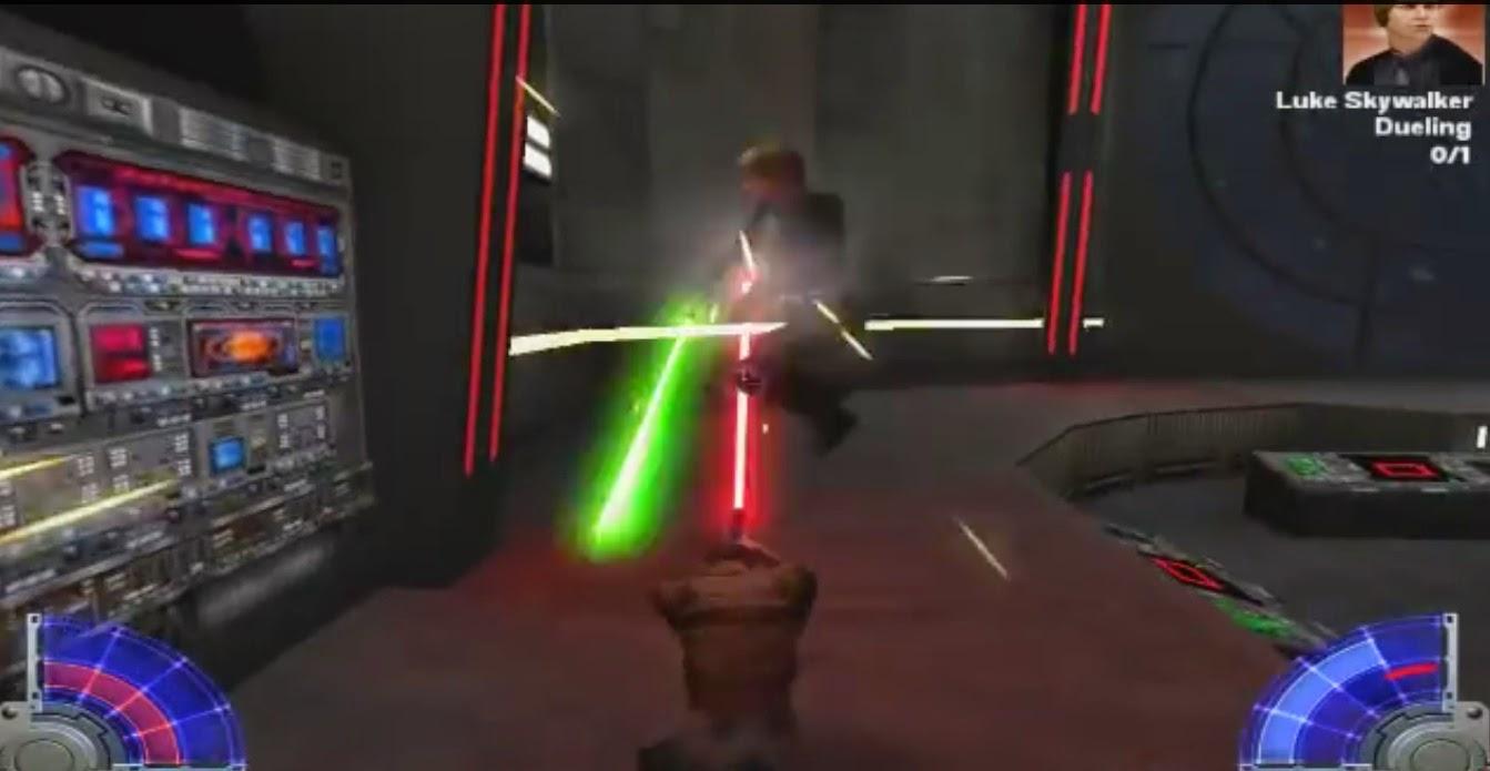 Star Wars Jedi Academy Angriff