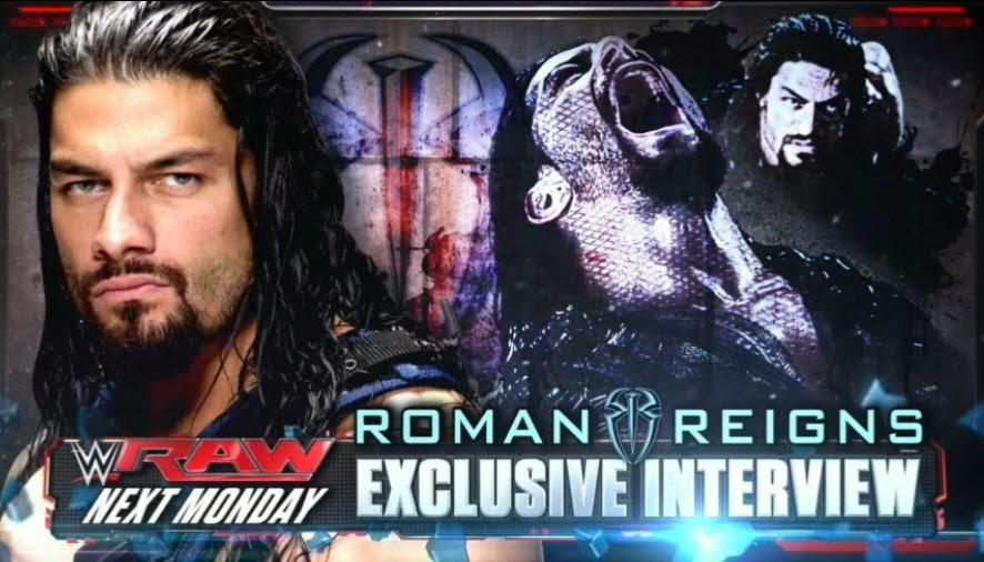 Επιστρέφει στο επόμενο RAW o Roman Reigns