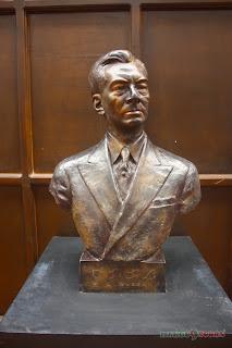 Mango Tours Aurora Baler Museo de Baler Manuel Quezon bust sculpture