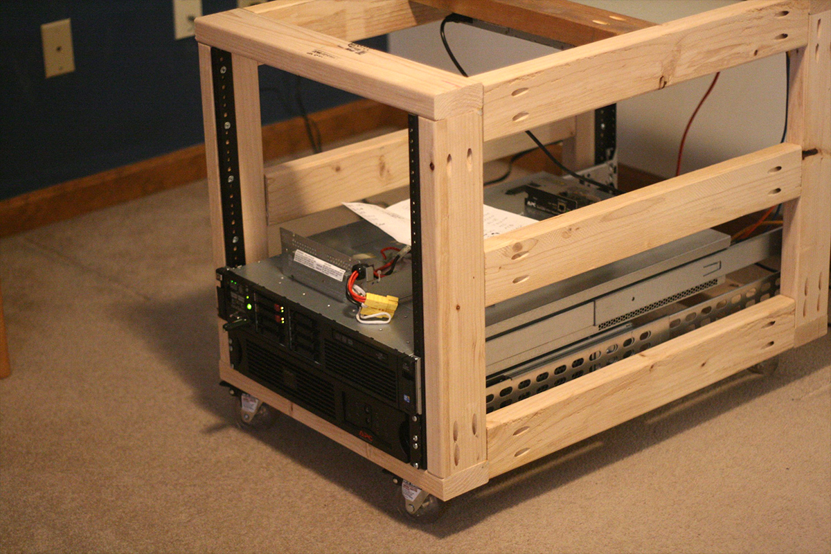Home Theater Cabinet Cooling Diy Server Rack Plans