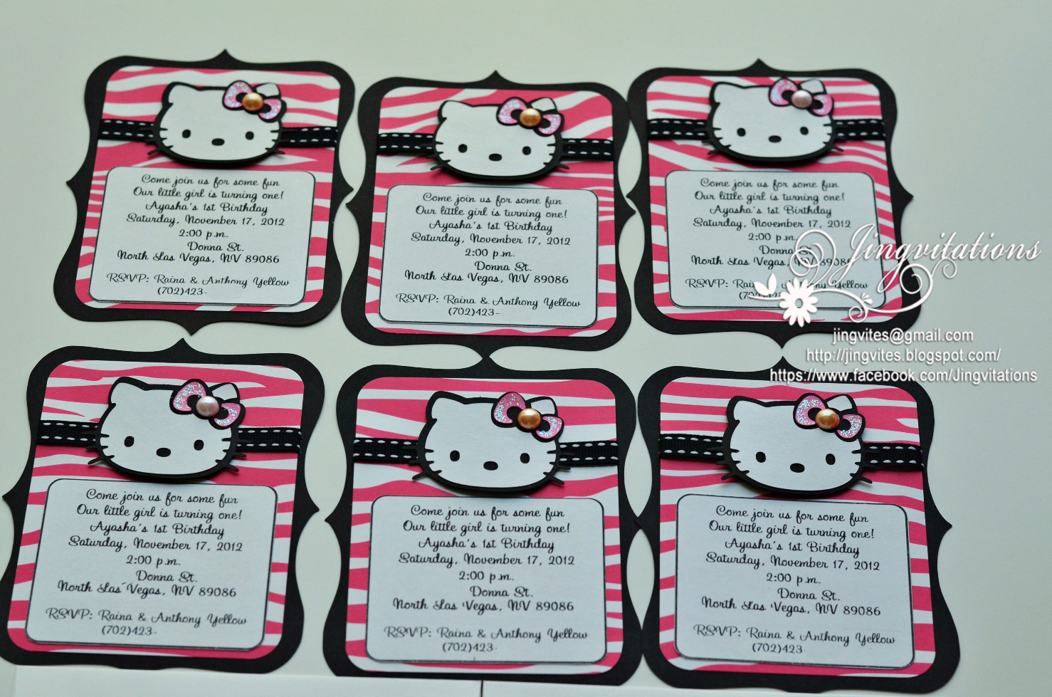 birthday and baby shower invitations hello kitty taiwan thailand singapore asia