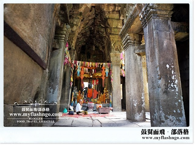 Travel Cambodia 2015 | 大吴哥城之谧静的 《斑黛喀蒂寺》 Banteay Kdei (5)