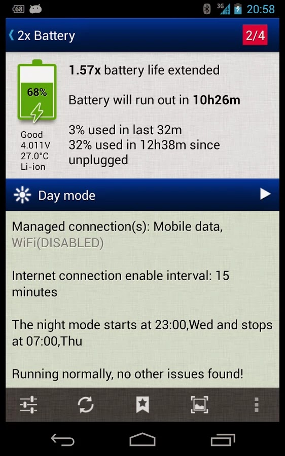 2x Battery Pro - Battery Saver v2.95