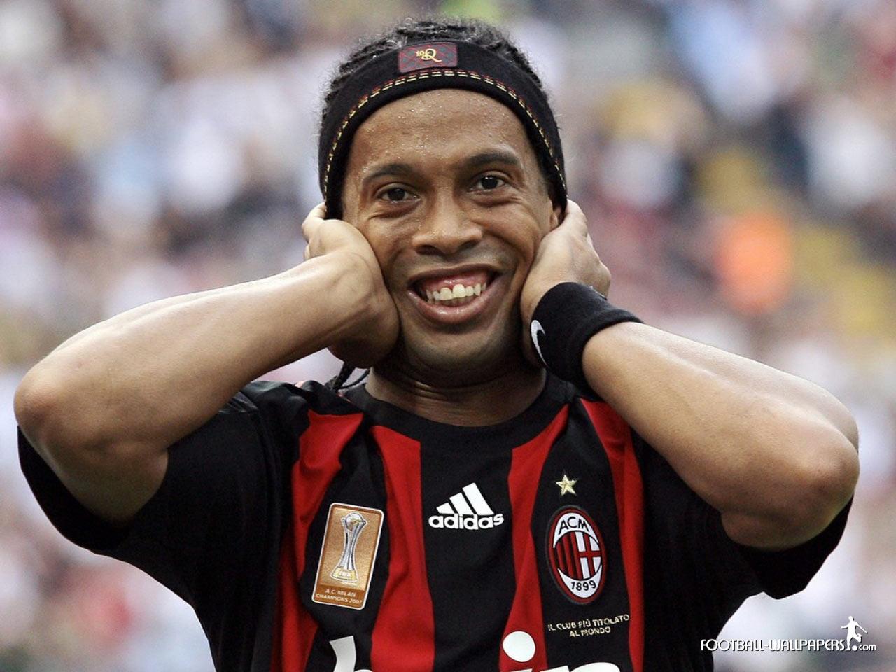 Ronaldinho New Teeth