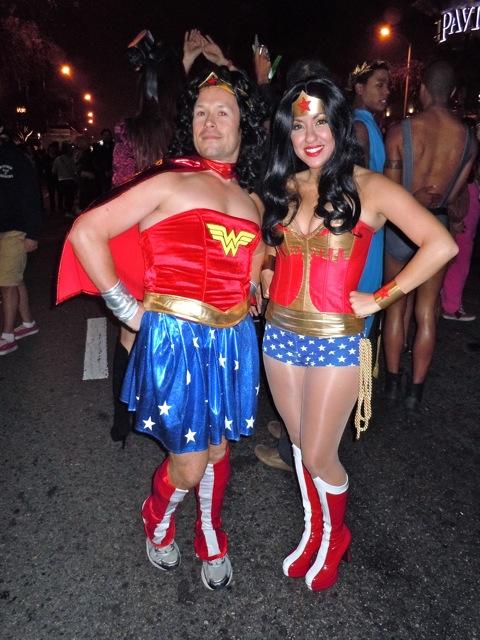 WEHO Halloween Carnaval Wonder Woman