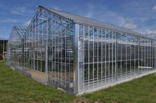 New system of solar powered greenhouse