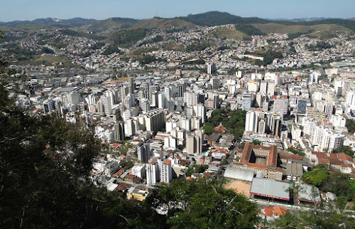 Vista do centro de Juiz de Fora - MG