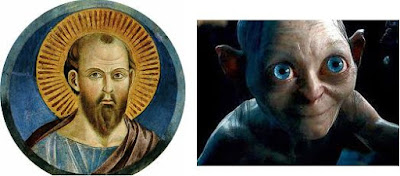 St Paul and Gollum