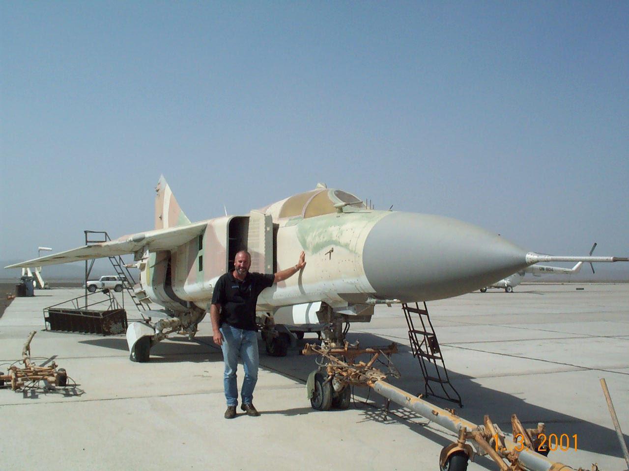 """سد النهضة الاثيوبي """" ملف شامل """" الجزء الثاني: الخيار العسكري ( موضوع فريق فرسان المجد ) - صفحة 3 Ethiopia+MiG-23Bn"""