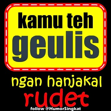 DP BBM Sunda lucu GIF gambar bodor ngageol ,versi Jpeg:
