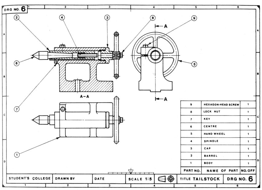 Lecture Notes Engineering Drawing Part 5