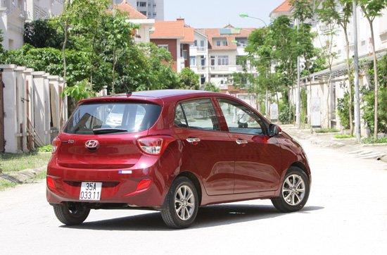 Đánh giá xe Hyundai Grand i10: city car tiện dụng