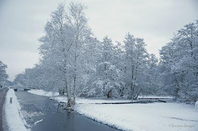 Sneeuw in Kortenhoef