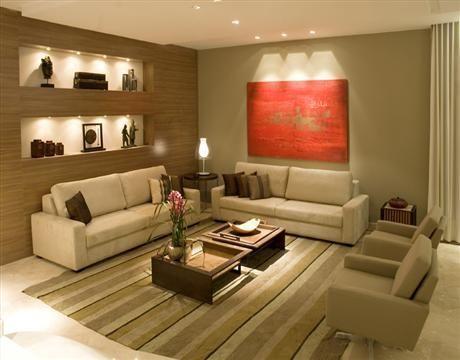 Sala de estar pequena ou espa osa qual a sua cantinho for Salas de estar pequenas