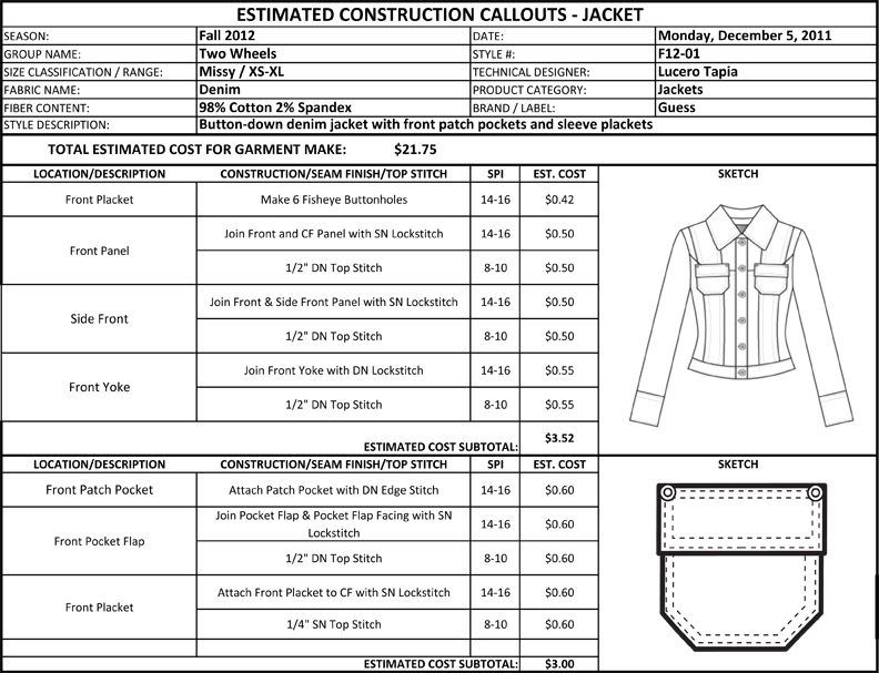 denim tech pack - don't have time to set-up your own excel sheets tech packs from scratch  5 pkt denim jeans  base- ladies  in this tech pack templates kit your.
