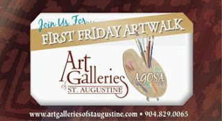 Art Walk, Drama, Privateers, and Hank Williams Jr! 7  498 AgosaMap2011 St. Francis Inn St. Augustine Bed and Breakfast