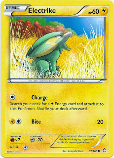 Electrike Primal Clash Pokemon Card