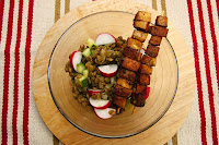 cockovy salat s tofu