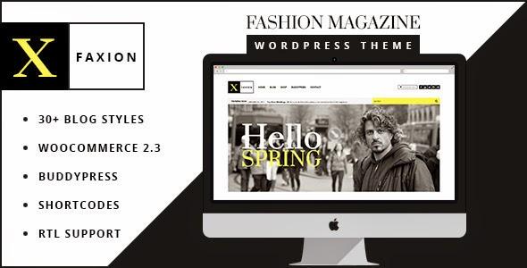 Faxion - Fashion Magazine Theme