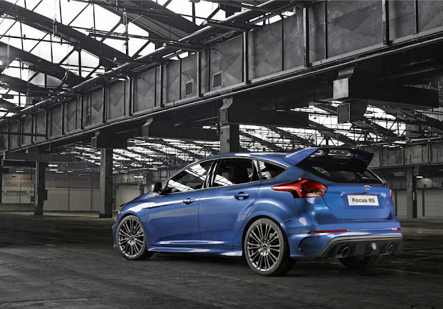 FORD FOCUS RS 2017 TRACCIÓN 4WD