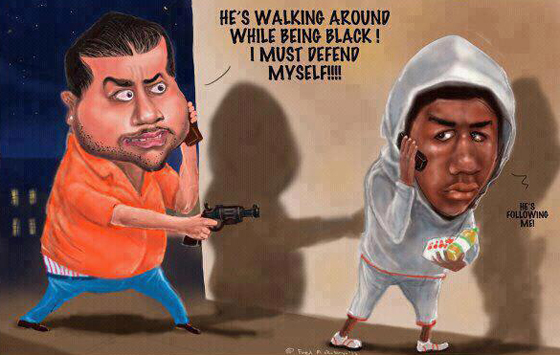It was only a matter of time before George Zimmerman revealed his racist nature to the rest if the world — Trayvon Martin was just his opening salvo.
