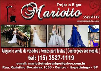 Mariotto Gold Aluguel e Venda de Vestidos e Ternos para Festas e Eventos